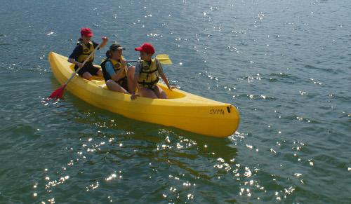 Canoe-en-famille