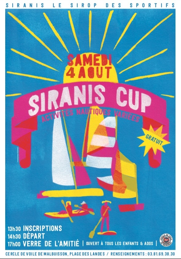 SIRANIS CUP Affiche 2018